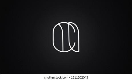 CI Letter Logo Design Template Vector