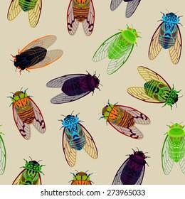 Cicadas pattern