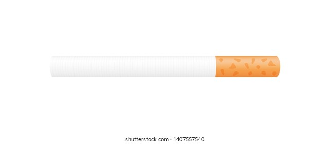 cigarette isolated on white background, cigarettes illustration, cigarette simple clip art, cigarette smoking, cigarette icon