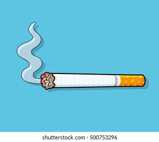 Cartoon Smoke Images, Stock Photos & Vectors | Shutterstock