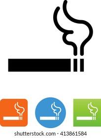 Cigarette / smoking icon