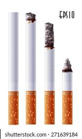 Cigarette smoldering