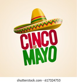 Cinco de Mayo holiday poster design. Vector illustration.