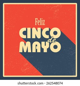 Cinco de Mayo posters backgrounds. Fiesta flyer in vintage style. Mexican holiday festival. Eps10 vector illustration