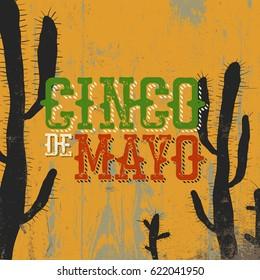 Cinco de Mayo vector illustration. 5 of May holiday vector. Cinco de Mayo holiday background.