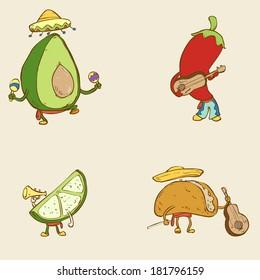 Cinco the Mayo, funny characters