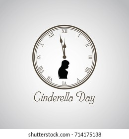 Cinderella Day Vector Illustration