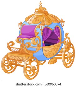 Cinderella fairy tale carriage