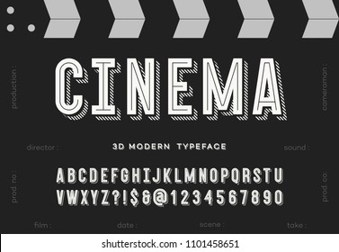 Movie Alphabet Images Stock Photos Vectors Shutterstock