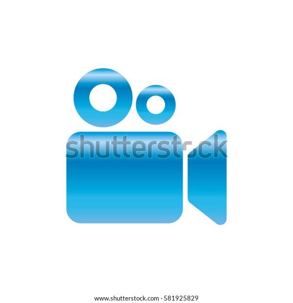 Cinema camcorder symbol icon vector illustration graphic design