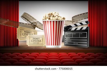 Movie Premiere Invite Images Stock Photos Vectors Shutterstock