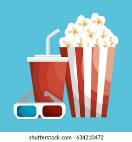 cinema entertainment elements icons