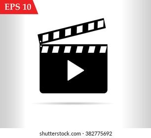 Cinema icon.Movie icon vector
