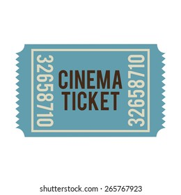 cinema icons design, vector illustration eps10 graphic