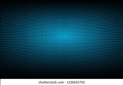 cinema screen for movie presentation. Light Abstract Technology background for computer graphic website internet and business. dark blue background. Pixel, mosaic, table. point, spot, dot