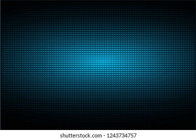 cinema screen for movie presentation. Light Abstract Technology background for computer graphic website internet and business. dark blue. Pixel, mosaic, table. point, spot, dot
