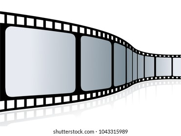 Cinema tape - vector illustration