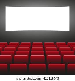 Cinema vector illustration