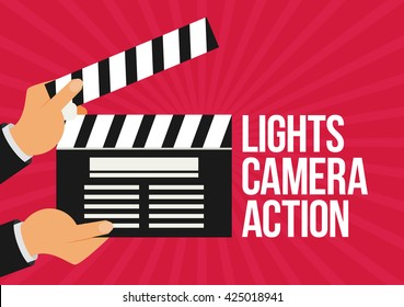 Lights Camera Action Images Stock Photos Amp Vectors