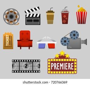 Cinema Watching Graphic