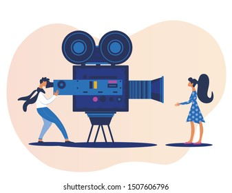 Actress Cartoon Images Stock Photos Vectors Shutterstock