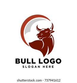 Circle Bull Logo