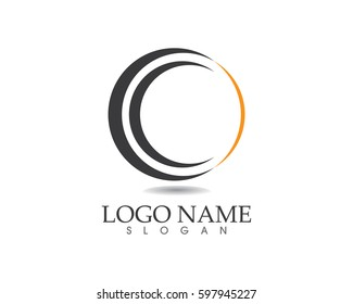 Circle business logo concept