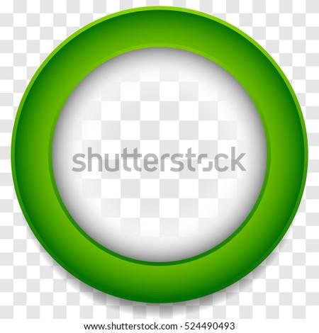 circle frame icon abstract lens element のベクター画像素材