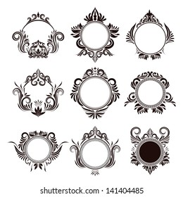 Circle Frame Ornamental