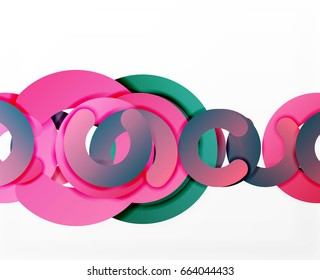circle geometric abstract background colorful business stock