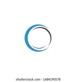 circle logo vector icon template