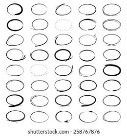 circle mark, highlight mark set