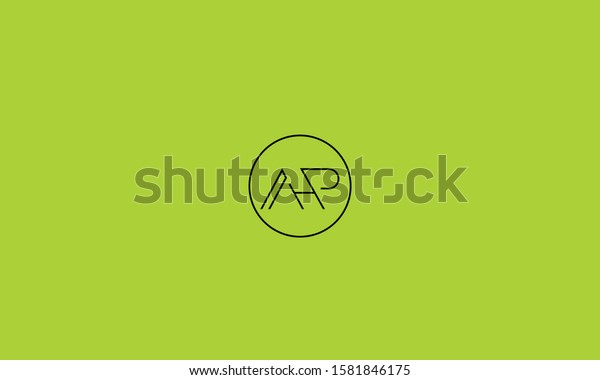 Circle Monogram Alphabet Logo Ahpphahapap H Stock Vector Royalty Free 1581846175