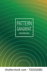 Circle pattern gradient business background