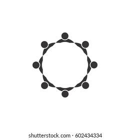 circle with people logo