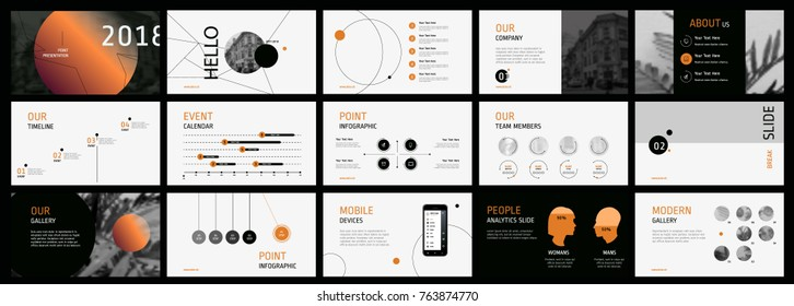 Circle Presentation templates. Easy Use in creative flyer and leaflet, corporate report, marketing, advertising, presenting, banner.simple modern style. Slideshow, slide for brochure, booklet