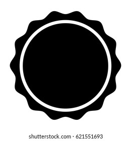 circle seal stamp lace