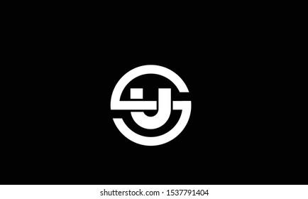 Circle shaped SU,US,S,U logo design