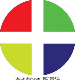 "Circle symbol cen be using on company name for change ""O"", tobe more colorfull word companys name."