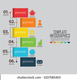 circles and other elements for infographic. Template for cycle diagram, graph, presentation and round chart. Business concept with 5 options, parts, steps or processes.