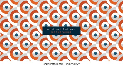 Circles pattern background. Abstract wallpaper with round objects.
