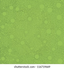 Circles pattern in fashion trend color