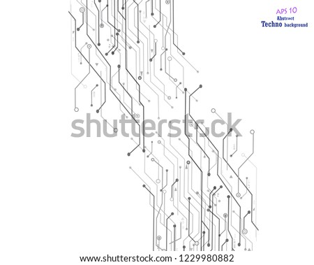 Circuit Board Background Texture High Resolution Stock Vector