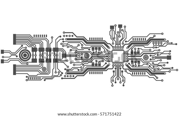vector de stock  libre de regal u00edas  sobre circuit board background texture vector