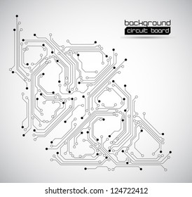 circuit board backgrounds vector texture