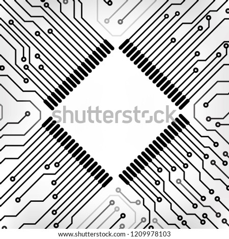 circuit board cpu microprocessor data transfer stock vector royalty Parallel Circuit Equations circuit board cpu microprocessor data transfer technology information concept vector background