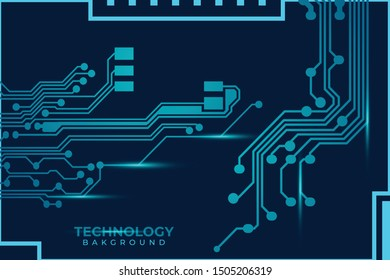 Circuit board design background vector illustration eps 10. Abstract technology background