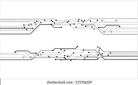 circuit board vector background texture