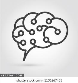 Circuit Brain Logo/Icon