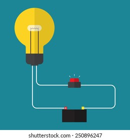 Simple Electric Circuit Images, Stock Photos & Vectors | Shutterstock